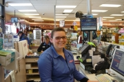 Lindsay Barrington at Pharmasave; Photo, submitted