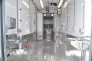 The inside of a typical mobile meat processing van that TriVan Truck Body builds out of their Seattle, Washington plant. The new mobile abattoir is set to arrive in the Boundary this week.