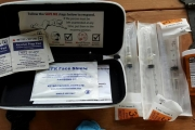 Officials are urging users to have a Naloxone kits, and not to use alone.
