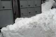 The kind of snow berms, just this year, making full access to existing community mailboxes questionable.