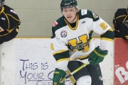 Defenceman Parker Wakaruk will join the Selkirk College Saints this September after three seasons of Junior A hockey which concluded in 2016-2017 where he played with the Humboldt Broncos in the SJHL. — Photo courtesy Chris Lee/Humboldt Journal