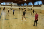 The courts at the Tenth Street Campus gym have been jammed with Nelsonites joining the Pickleball craze. — Submitted photo