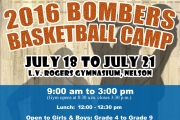 Bombers host Youth Basketball Camp at LVR Hangar