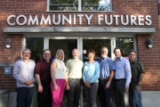 Photo Caption: The Community Futures Central Kootenay board includes (no particular order) Robert Bleier, Peter LeCouffe, Chris Bell (Chair); Frances Swan (Vice Chair), Charlotte Ferreux, Dan Salekin,Terry Bambrick and Bob Wright. — Submitted photo