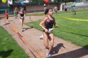 Competitors from last year take to the running course. — photo courtesy Kids-Tri event