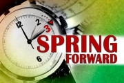 The practice, when time springs forward at 2 a.m., occurs the second Sunday in March.