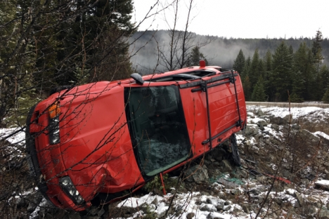 In the Southern Interior 62 people are injured in 310 crashes.