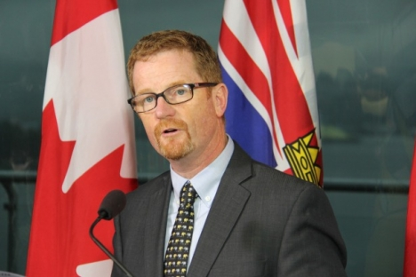 Minister Terry Lake penned a letter to environmental groups Wednesday.