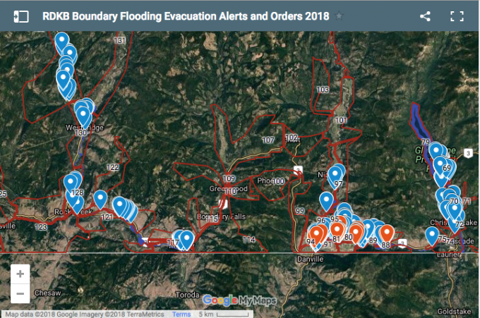 Thousands ordered to flee BC Interior as flood risk mounts